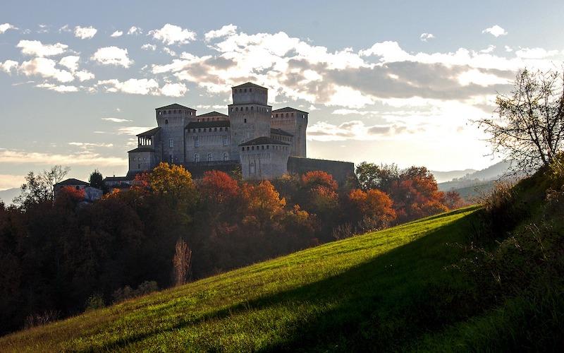 Castello Torrechiara bij Parma