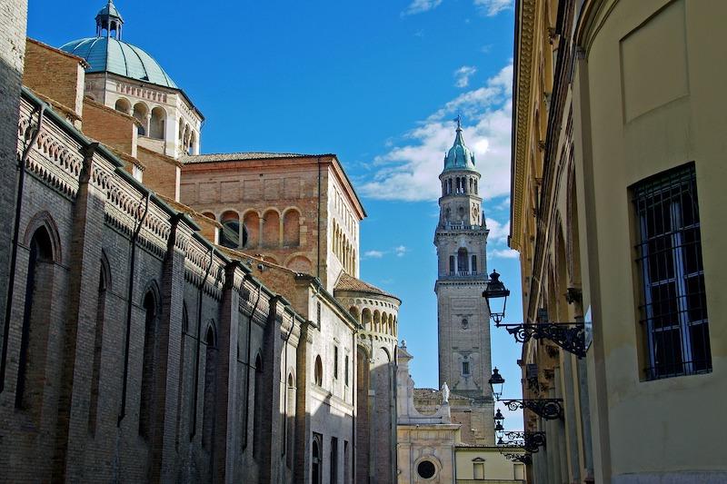 Het centrum van Parma