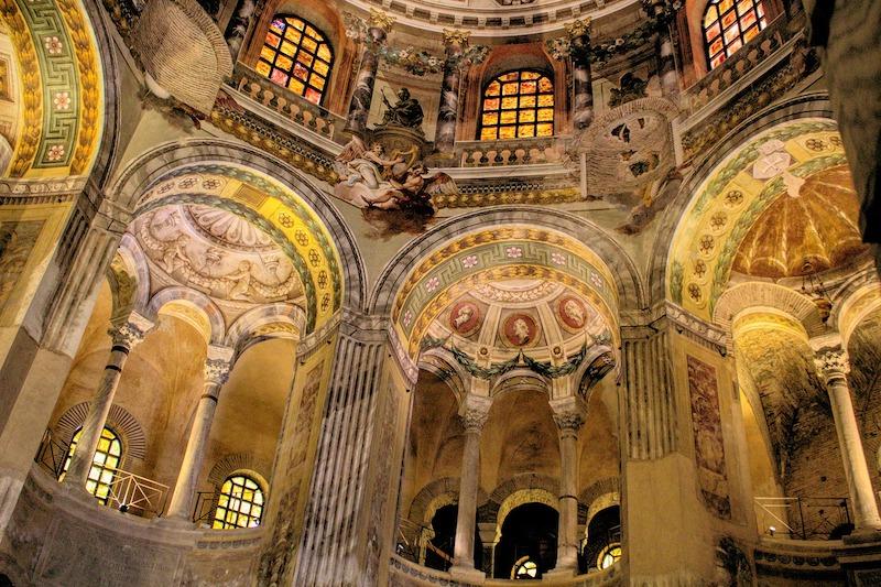 De basiliek van San Vitale