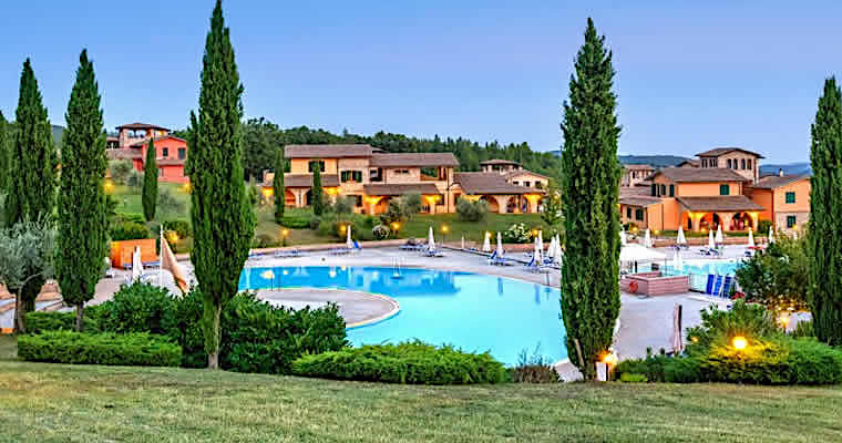 Luxe vakantiepark in Toscane