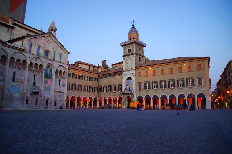 Het stadhuis van Modena