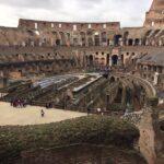 De binnenzijde van het Colosseum