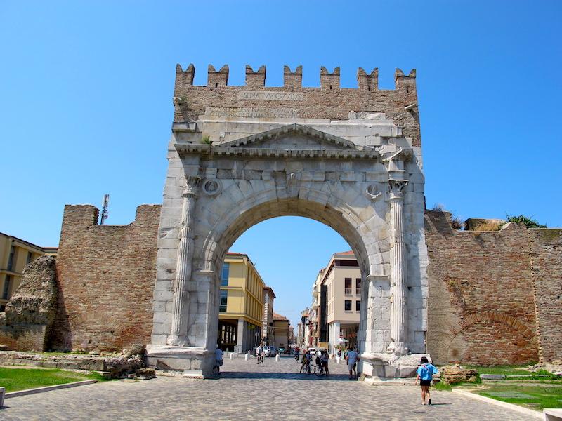 Arco d'Augusto in Rimini