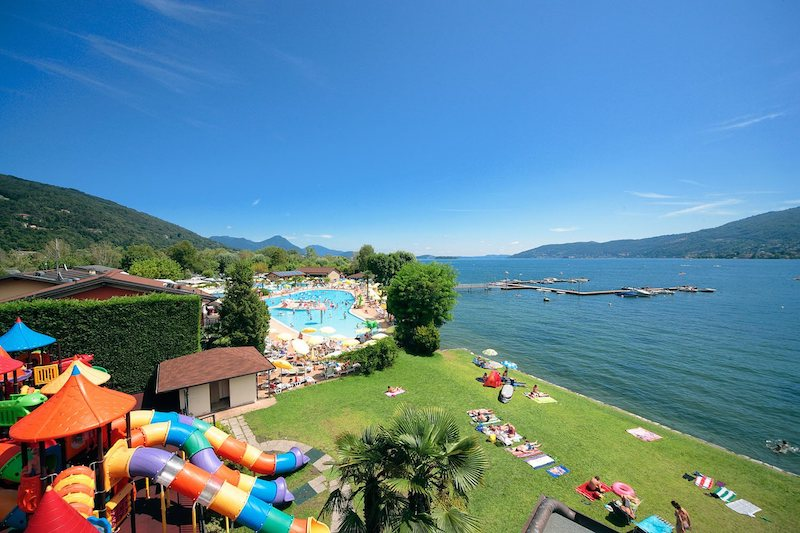 Zwemparadijs aan het Lago Maggiore: Camping Isolino