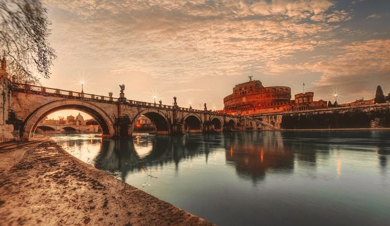 Rome: de Engelenburcht aan de Tiber