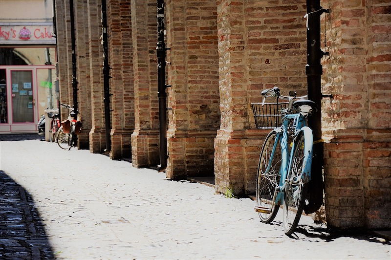 Op straat in Rimini