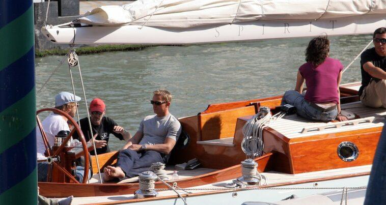 Daniel Craig in Venetië