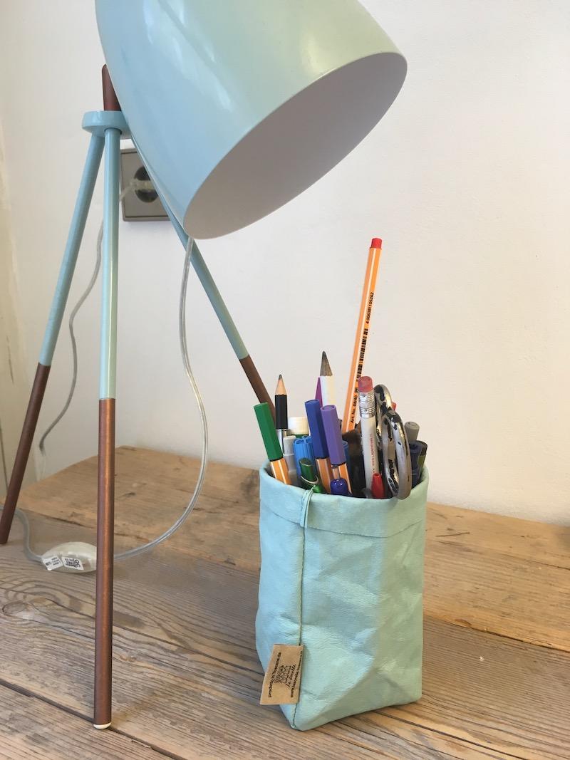Paperbag voor pennen en potloden