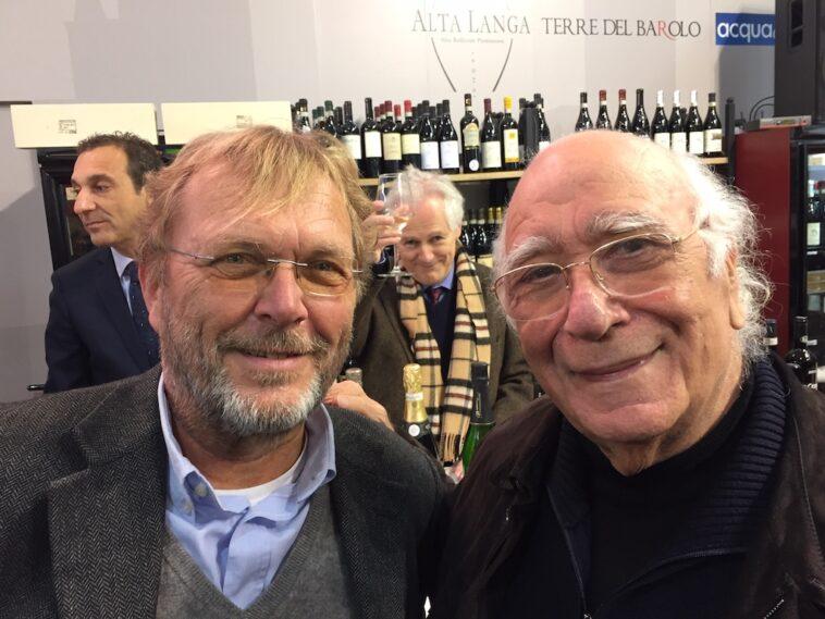 Aart Heering met Giovanni Rana