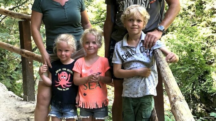 Paul, Wendy en kinderen