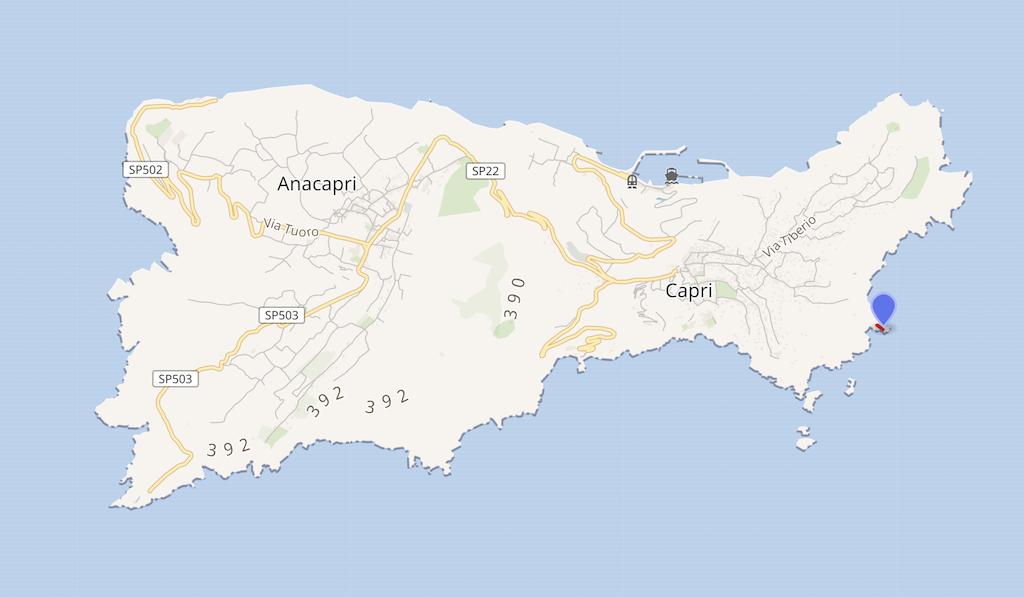 Villa Malaparte op Capri