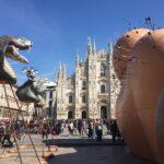 De reuzenfauteuil van Gaetano Pesce voor de Milan Design Week 2019