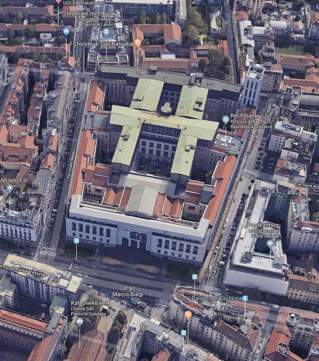 Paleis van Justitie Milaan