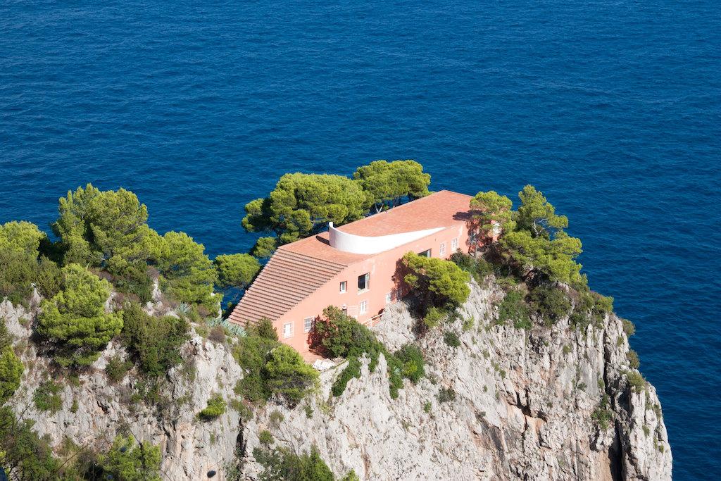 Villa Malaparte Capri Italië