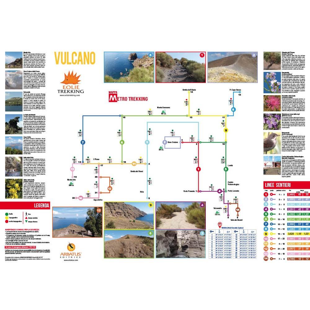 Vulcano kaart