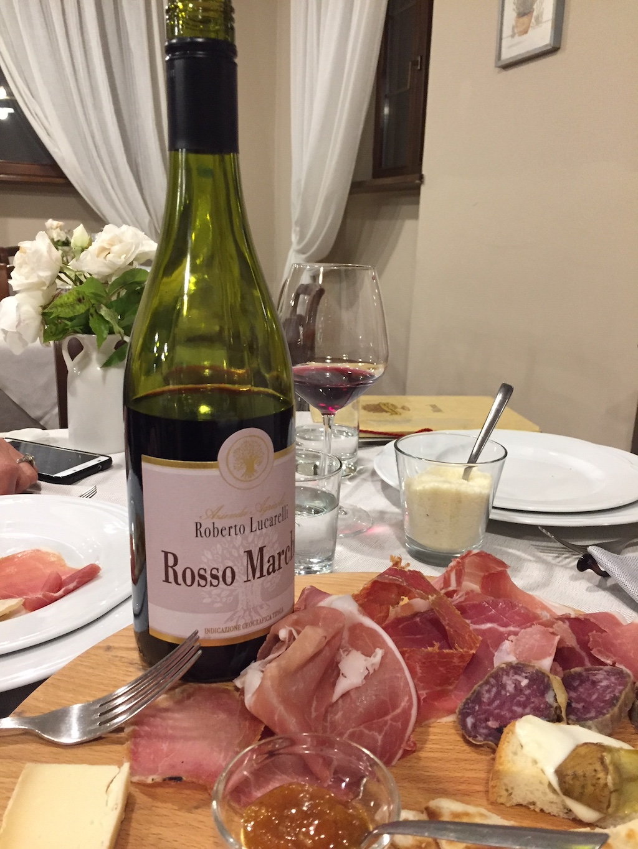 Genieten van antipasti met Rosso Marche