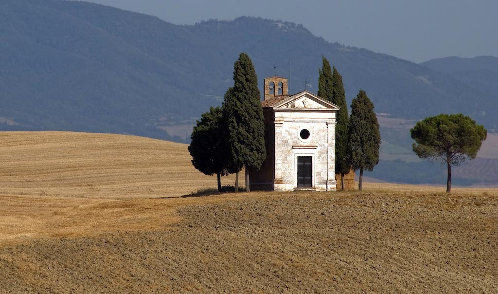 Cappella della Madonna di Vitaleta - Val d'Orcia