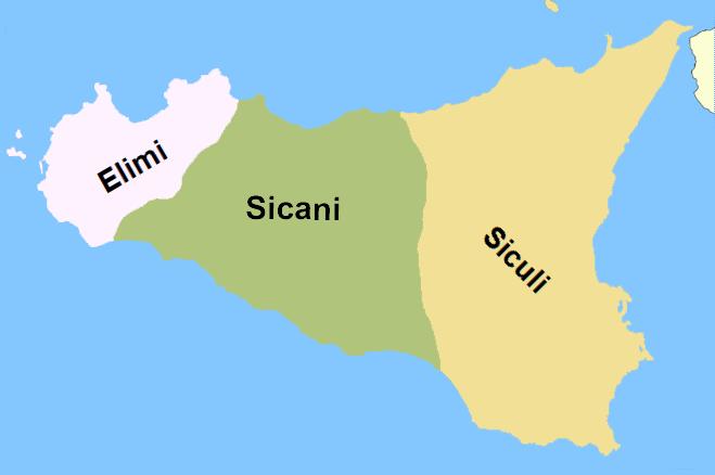 Elymeërs Sicilië