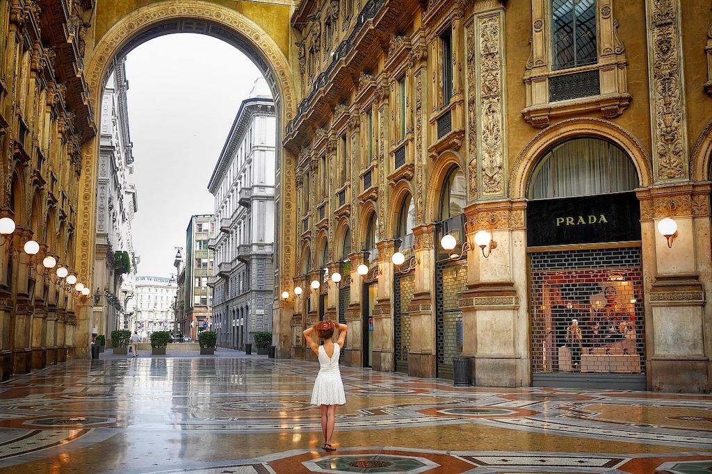 Stijlvol shoppen in Milaan