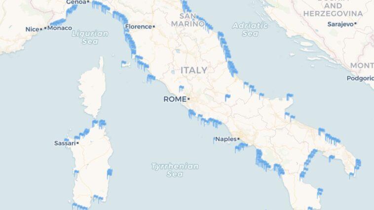 Blauwe Vlag Italië 2019