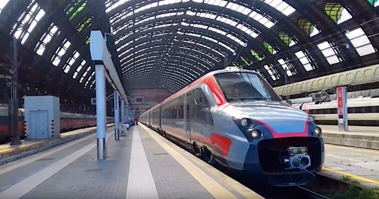 Ex-Fyra op het Milaan Centraal Station