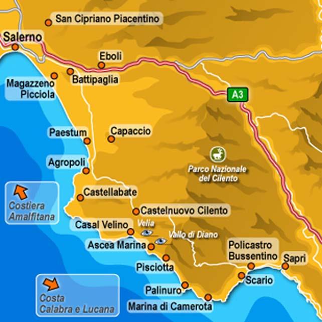 Nationaal Park Cilento