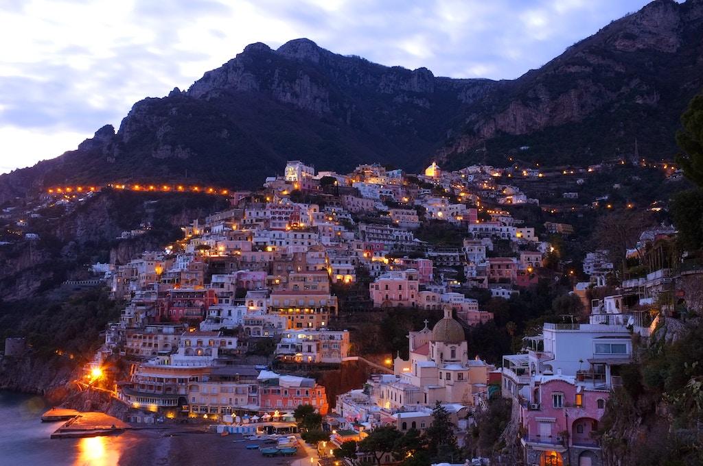 Positano aan de Amalfikust