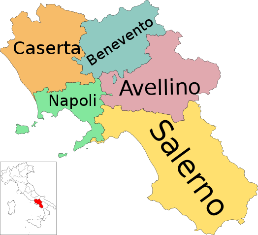 Provincies van Campanië