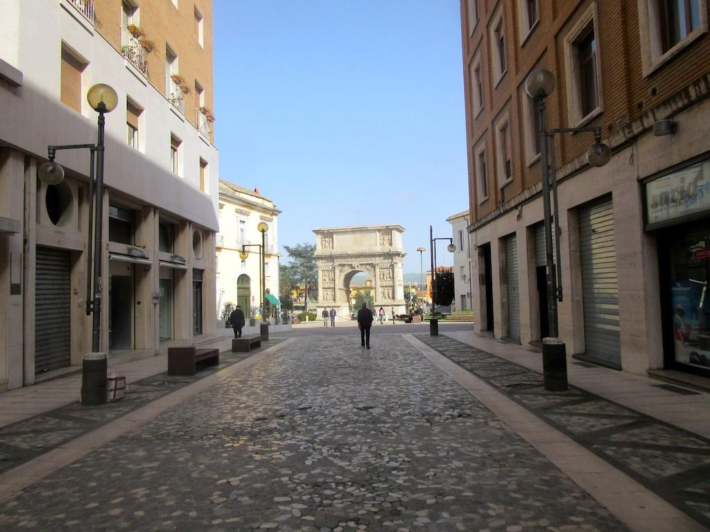 Via Traiano in Benevento