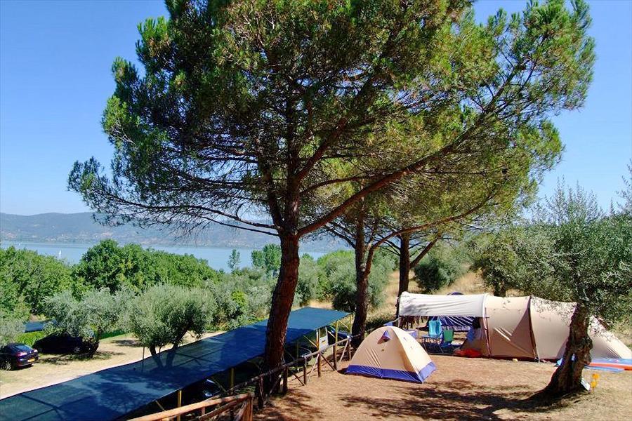 camping cerquestra trasimenomeer
