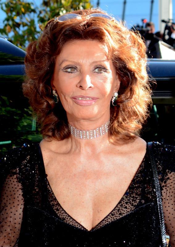 Sophia Loren in 2014
