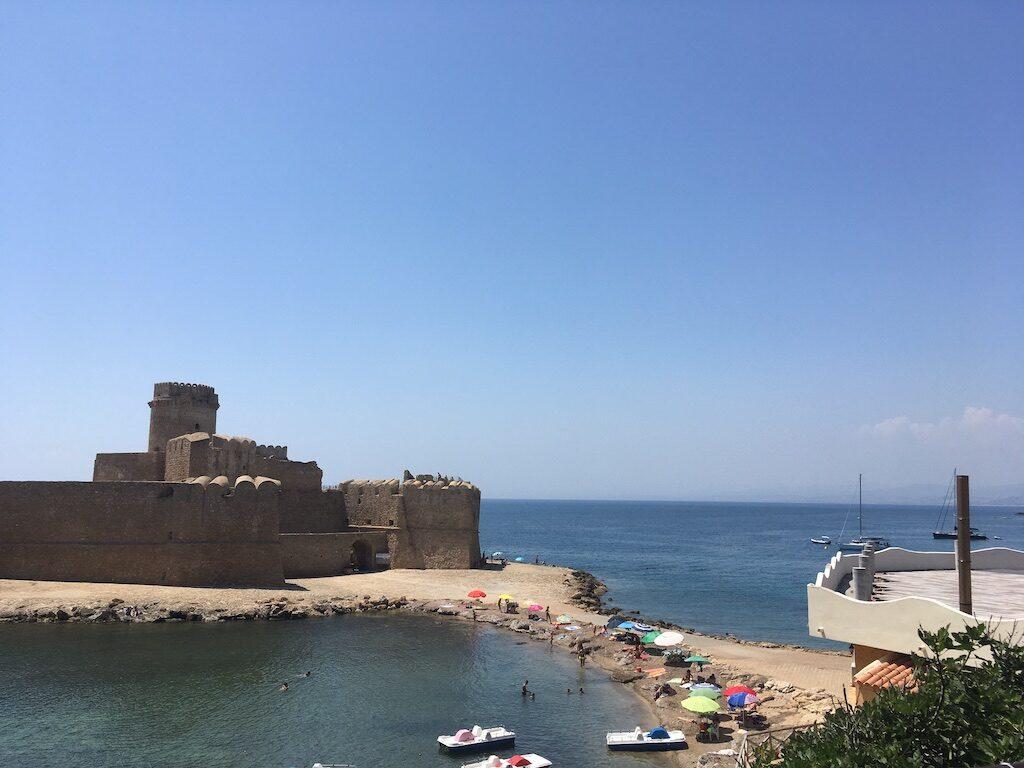Le Castella in Calabrië