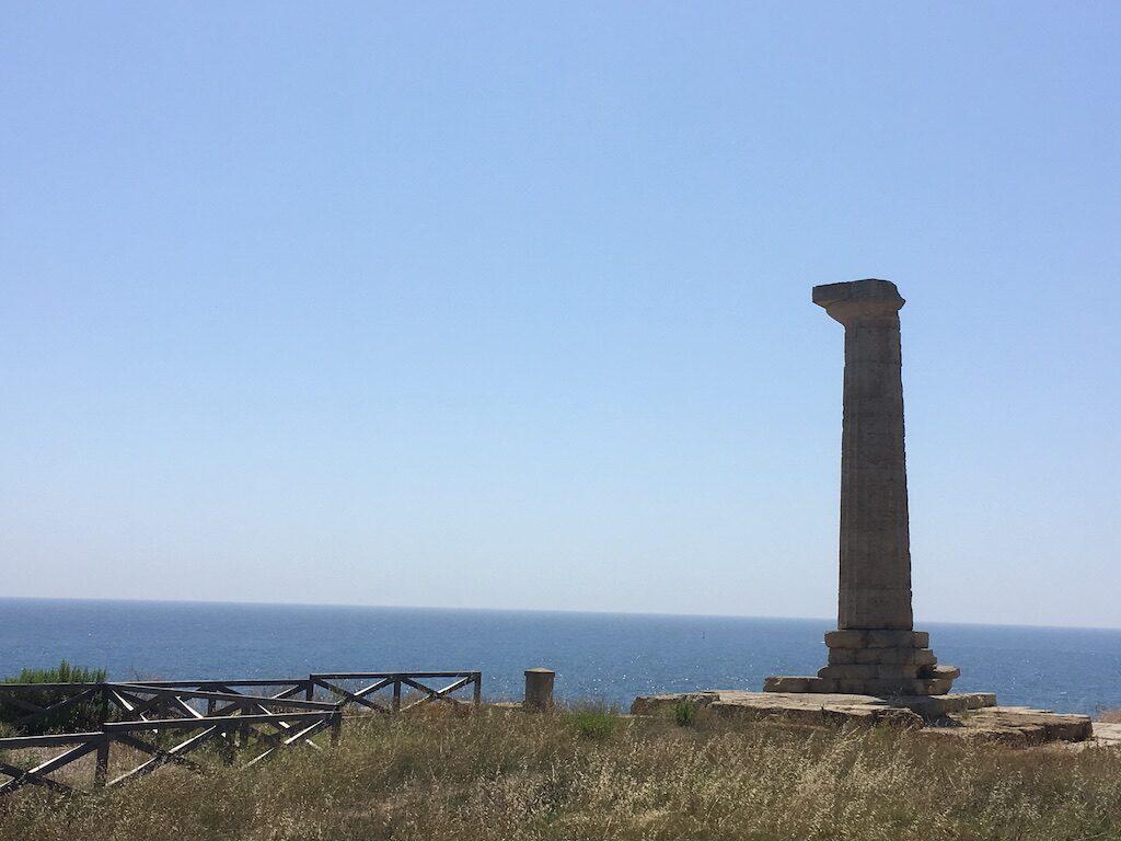 Oude overblijfselen in Calabrië