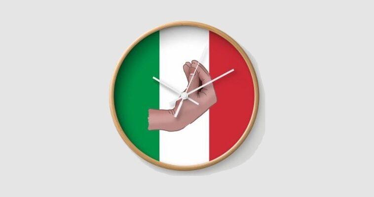 Italiaanse klok