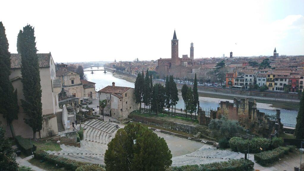 Het Romeinse theater van Verona
