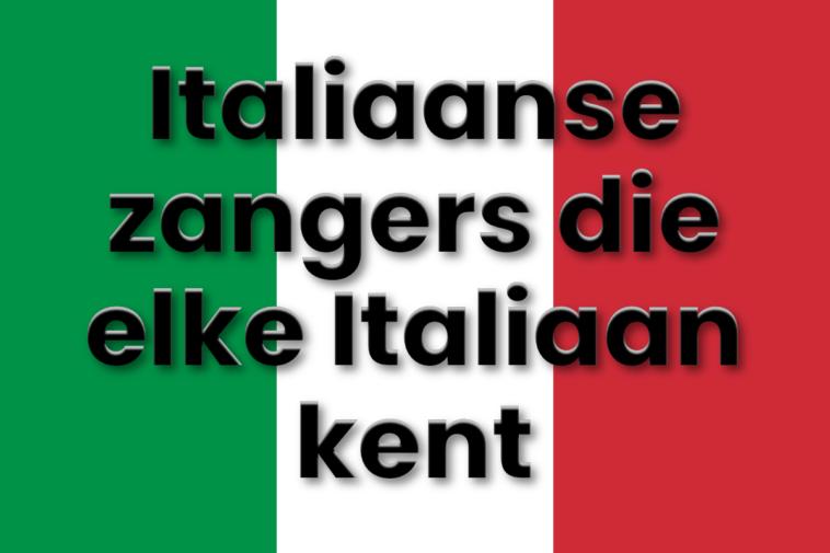 Beroemde Italiaanse liedjes in Italië