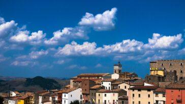 Een dorp in Molise, Italië