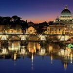 vliegen naar Rome