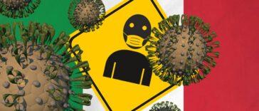corona in Italië - coronavirus - paniek breekt los
