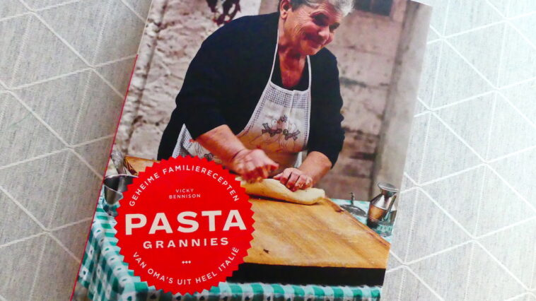 Pasta Grannies kookboek 01