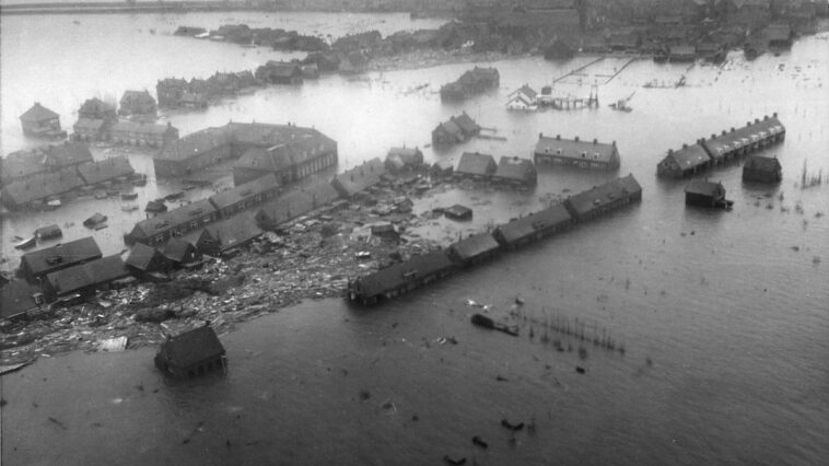 Italianen hielpen bij de Watersnoodramp in 1953