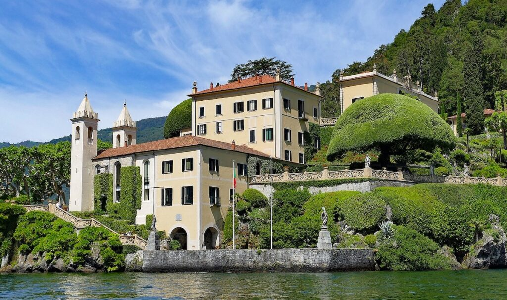Villa Balbianello aan het Comomeer