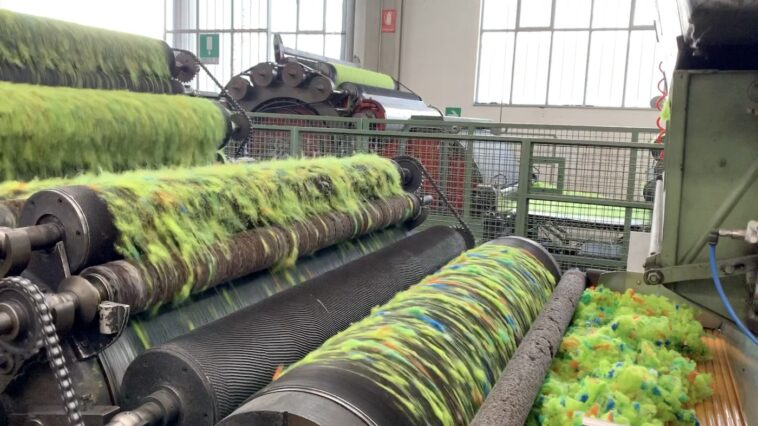 Textielrecycling in Prato