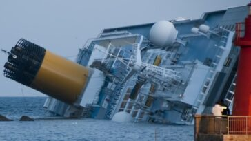 Costa Concordia kapsijst