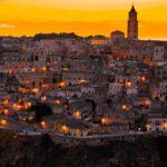 Matera - James Bond Italië - in de avond