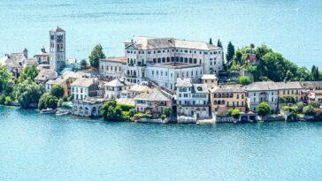 Isola San Giulio in het Ortameer